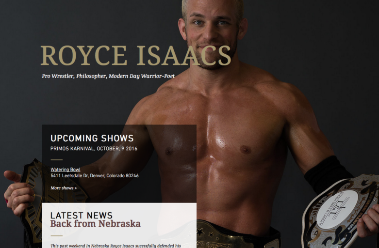 Royce Isaacs Website